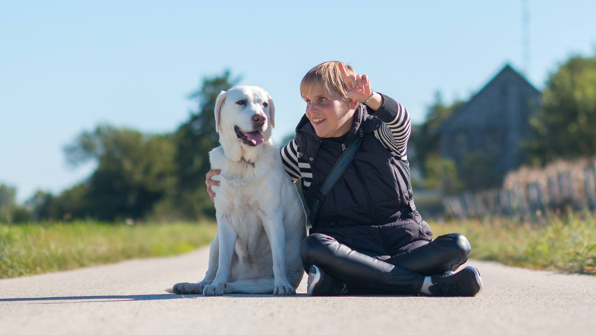 A vakvezető kutya, aki új életet adott gazdájának