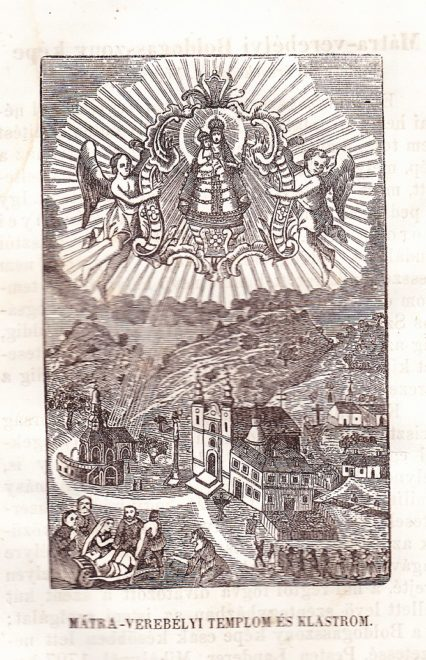 Szentkút Mátraverebély legenda jelenés