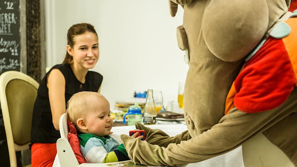 Gyerekanimáció és gyerekfelügyelet – babával vagy kisgyerekkel