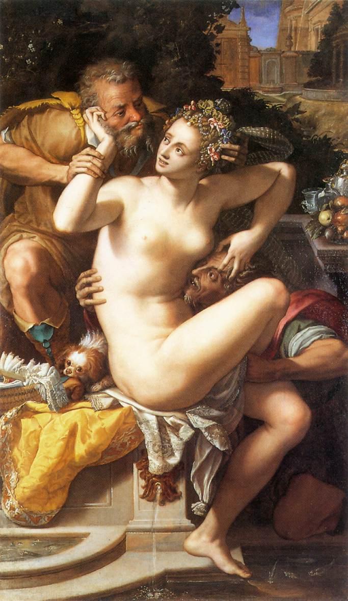 Alessandro Allori festménye (forrás: Wikipedia)