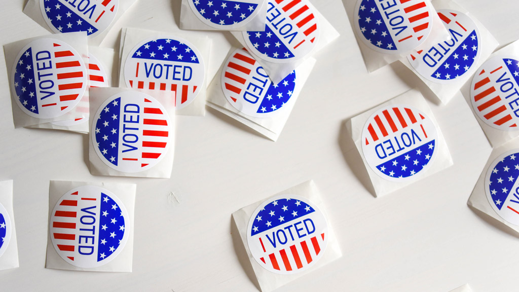szavazott, írják a matricán