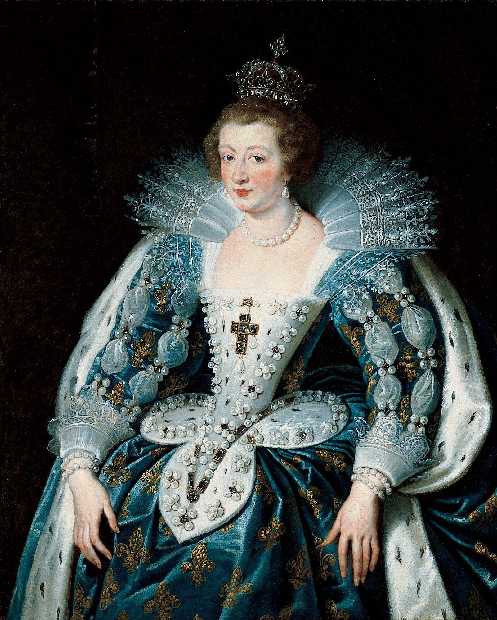 Ausztrai Anna Rubens festményén (forrás: Wikipedia)