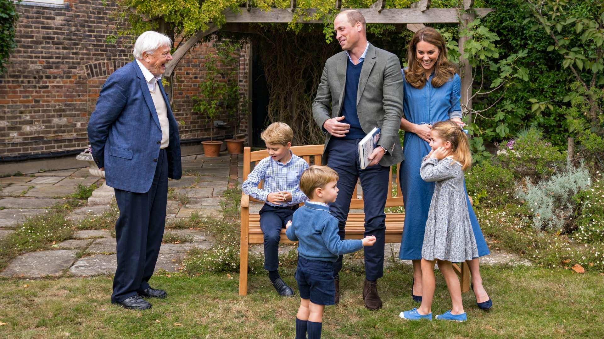 David Attenborough Vilmossal, Katalinnal és a gyerekekkel