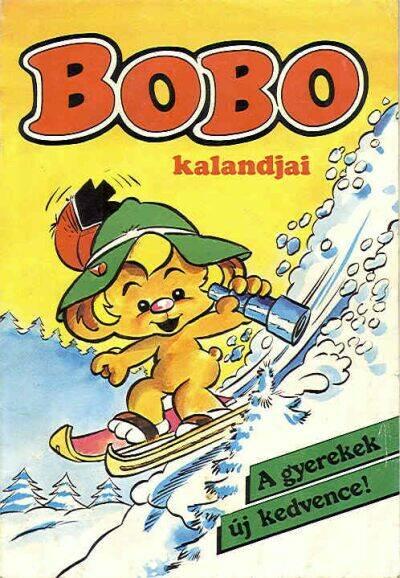 Bobo egy kedves kis maciszerű manó, akit imádtak a gyerekek. (Fotó: kepregenydb.hu)