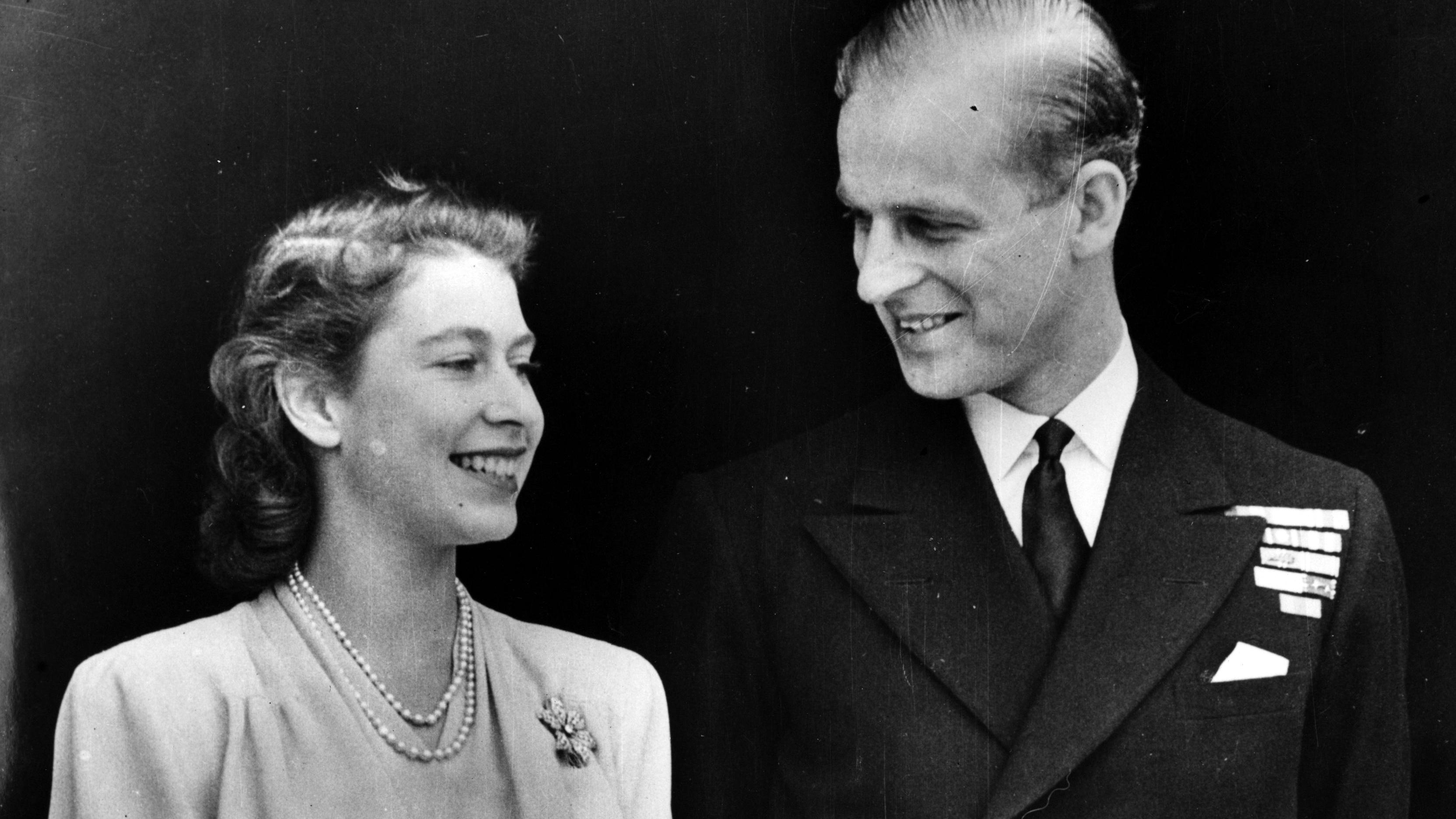 Erzsébet hercegnő és Fülöp herceg