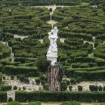 Tiszadobi Andrássy-kastély kertje