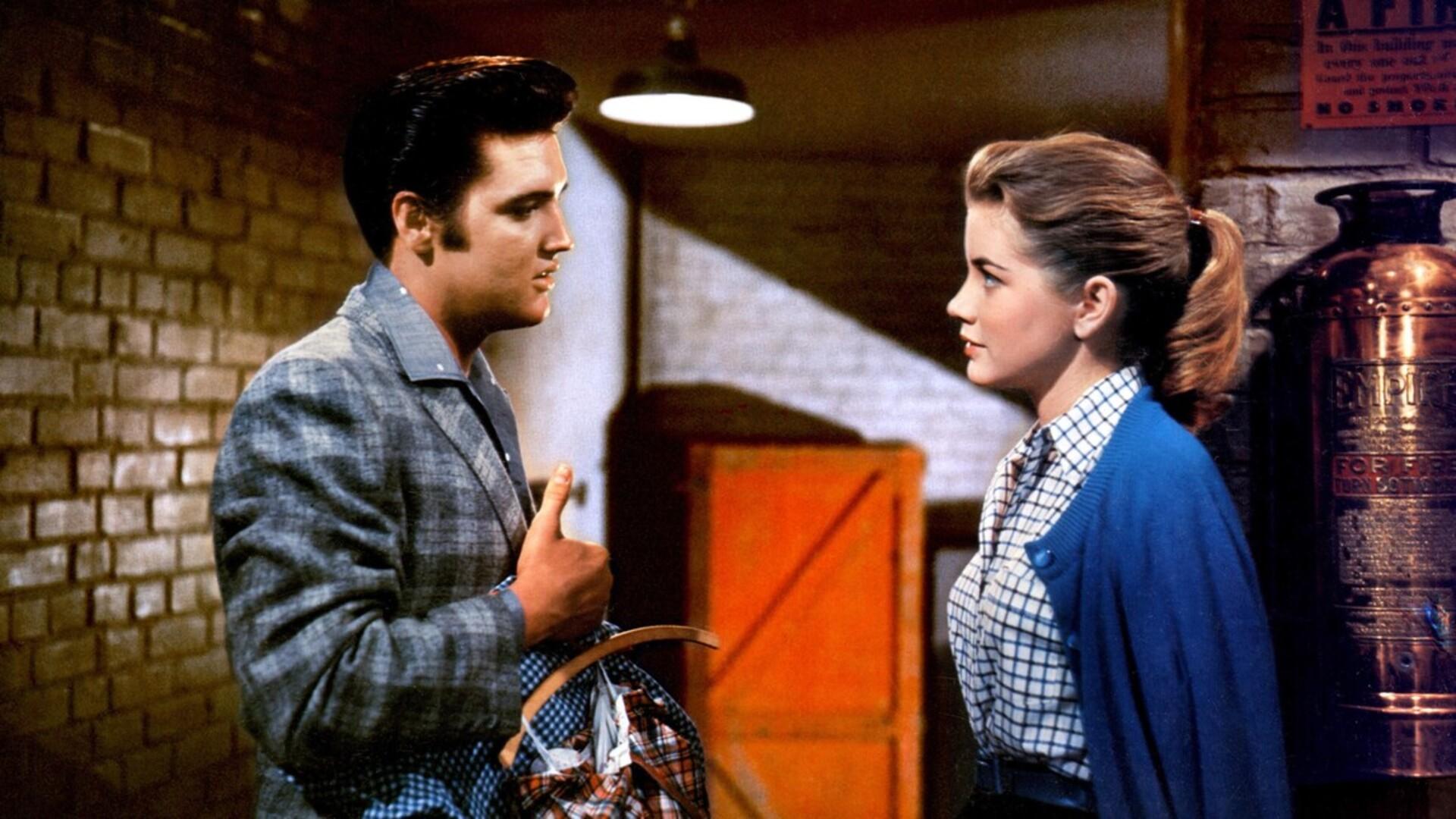 Dolores Hart és Elvis Presely