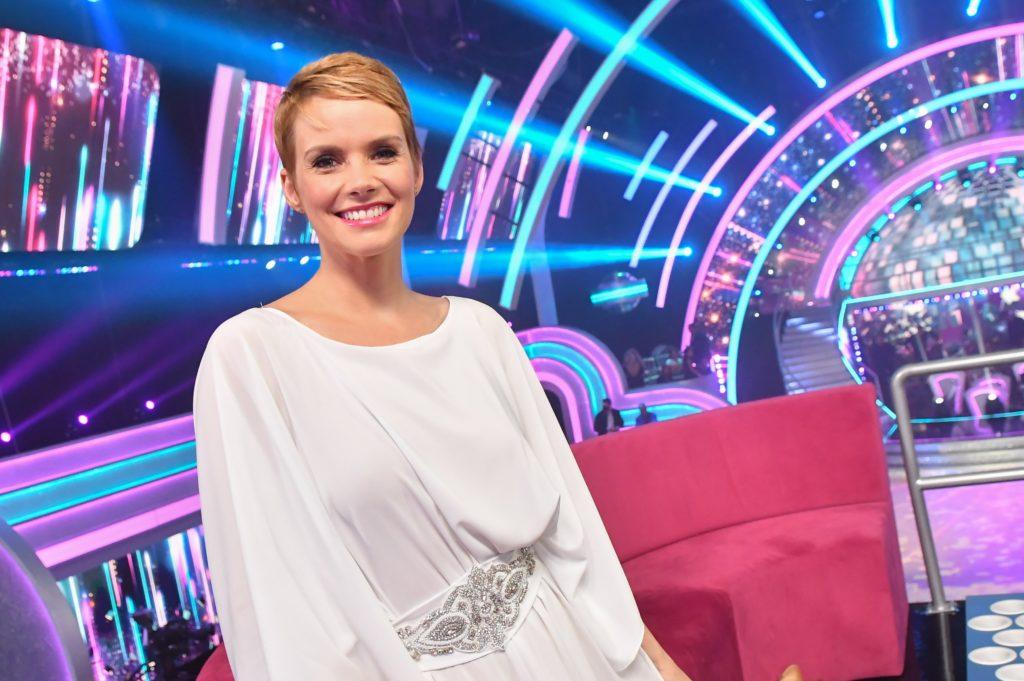 Osvárt Andrea a Dancing with the Star-ban (Fotó: TV2)