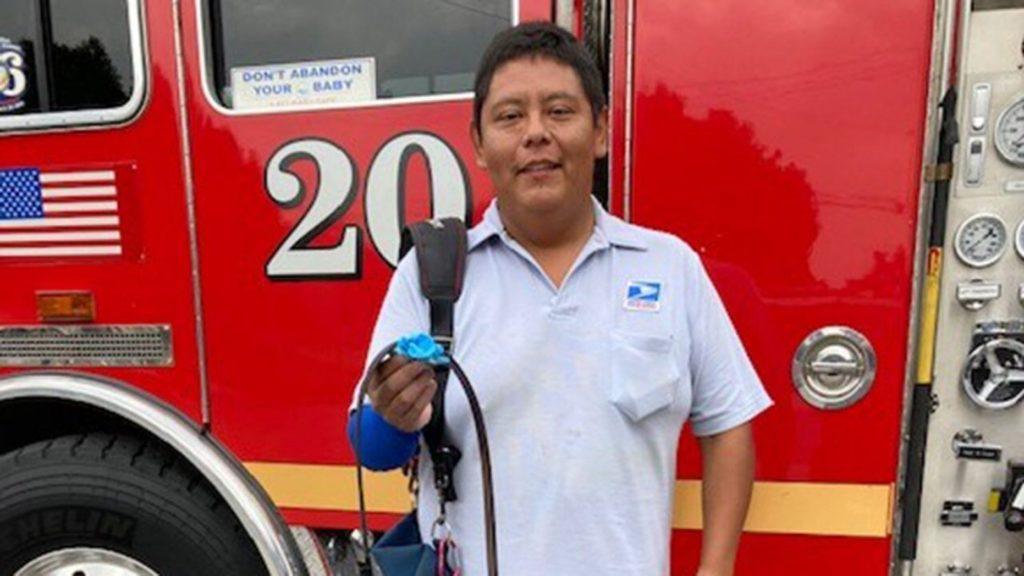 Fernando Garcia , a hős postás (Fotó: Los Angeles County Sheriff's Department)
