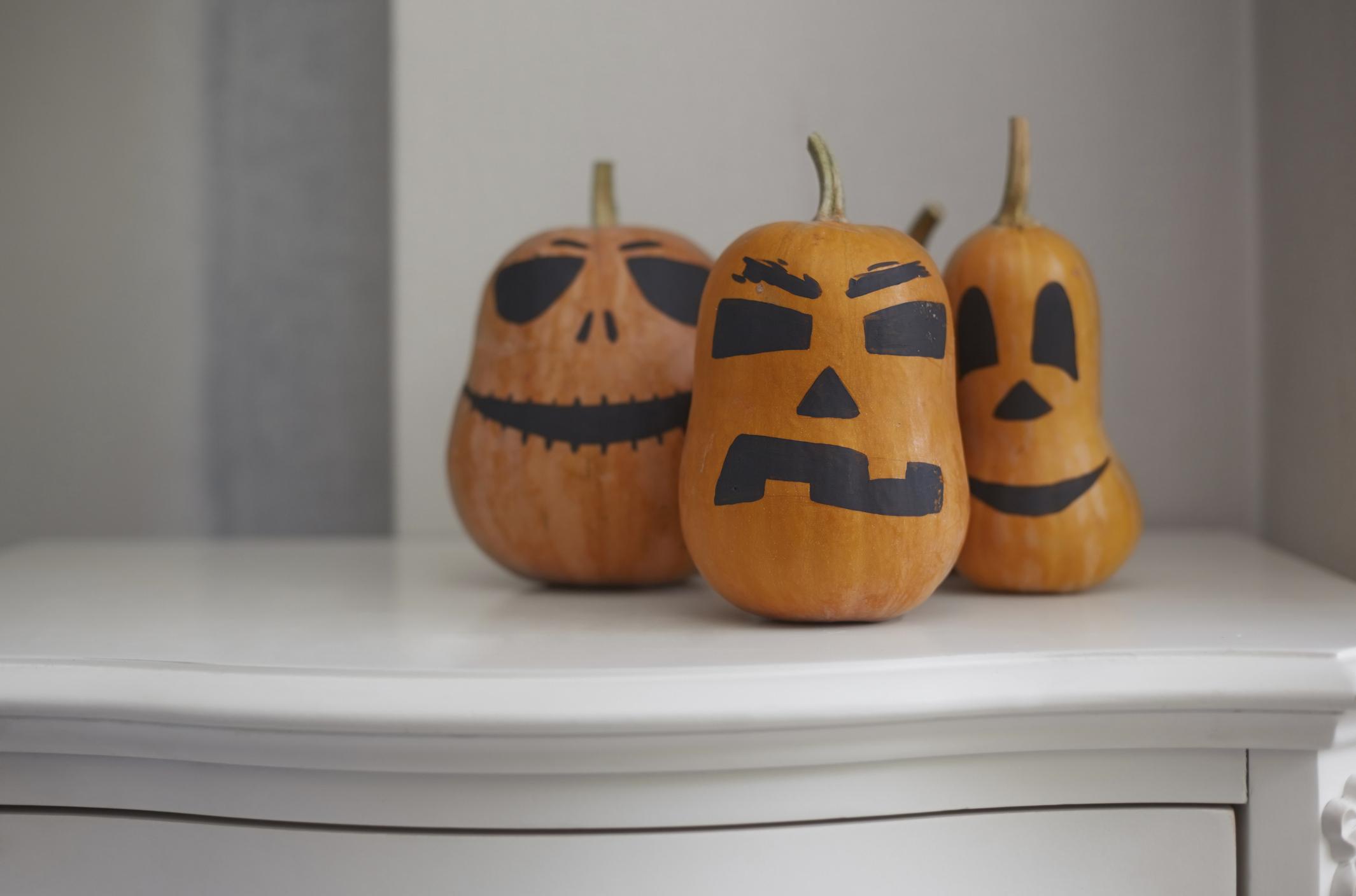 Halloween dekorációk