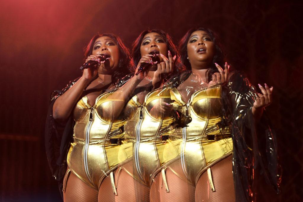 Lizzo 2019 szeptemberében a Radio City Music Hallban lépett fel. (Fotó: Theo Wargo/Getty Images)