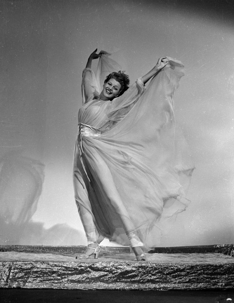 Rita Hayworth a Szépek szépe című filmben