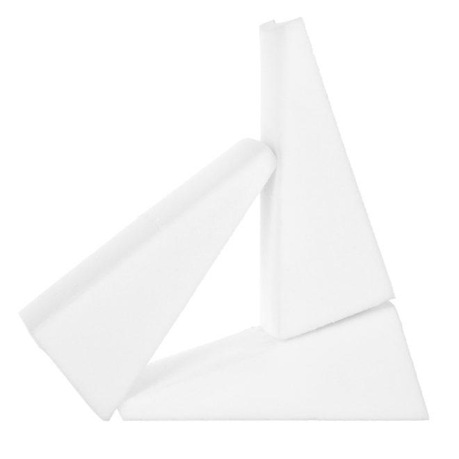 Háromszög formájú sminkszivacs