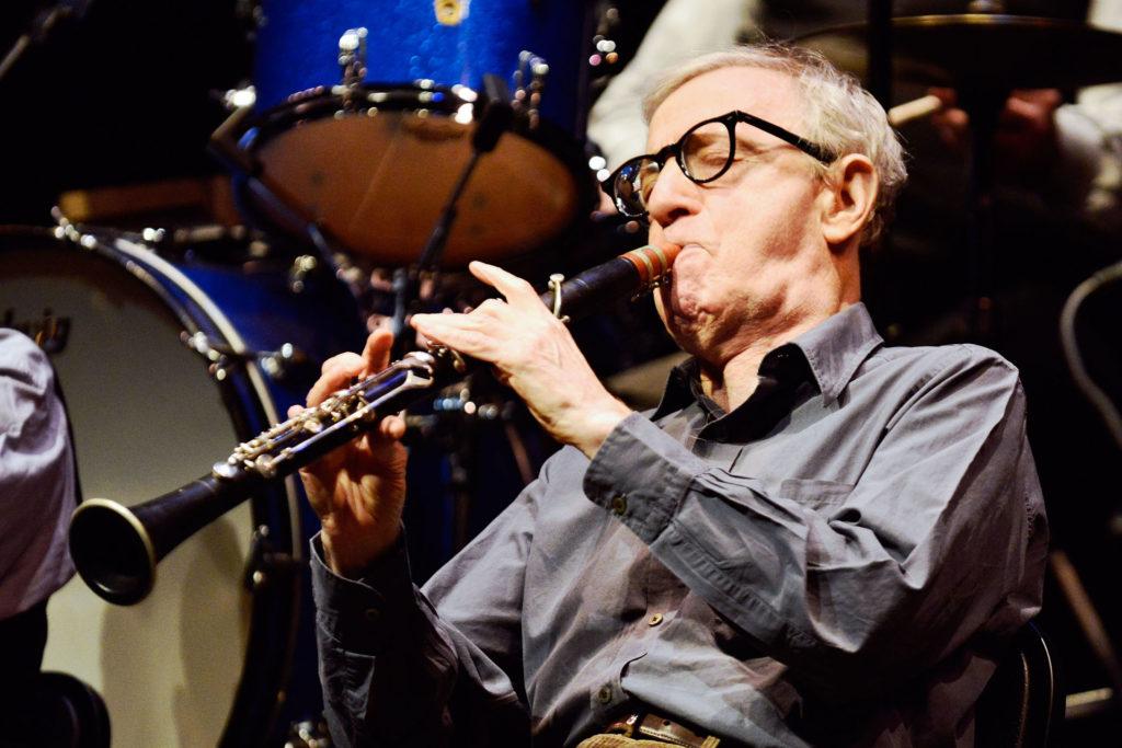 Woody Allen klarinétozik