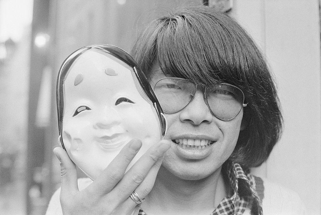 A fiatal Kenzo Takada