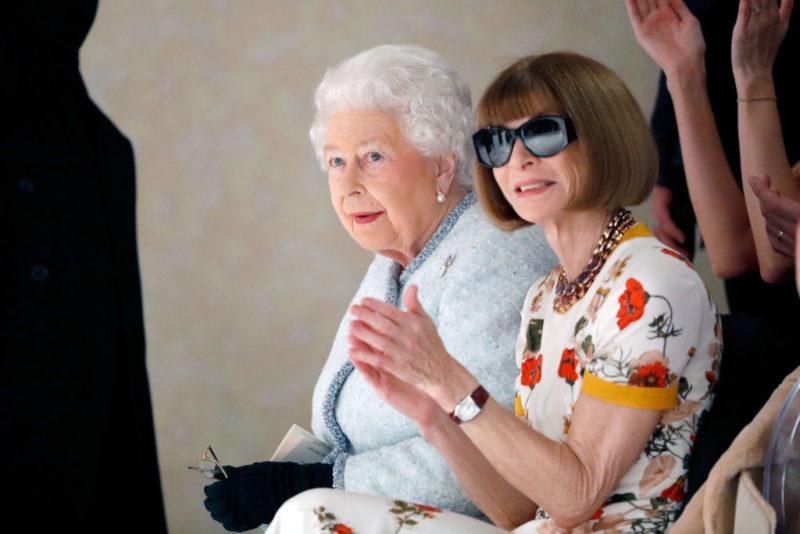 II. Erzsébet és Anna Wintour