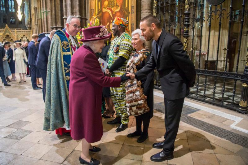 II. Erzsébet és Liam Payne