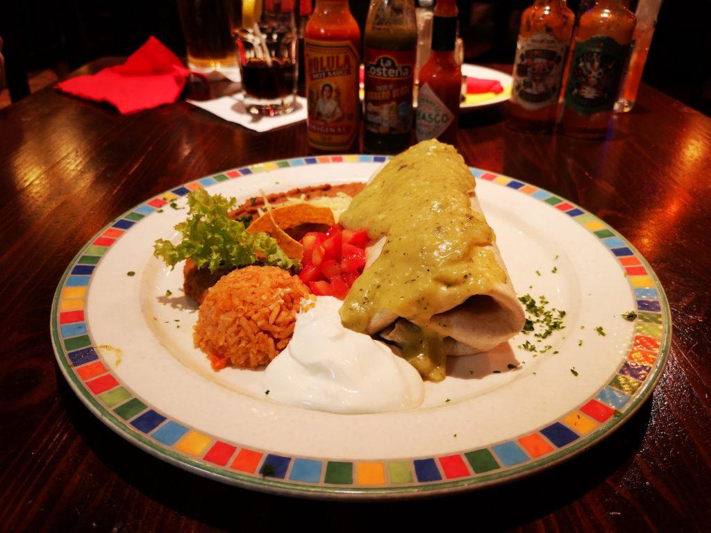 Carna asada burrito az Iguana Étteremben (Fotó: Pálúr Krisztina/NLC)