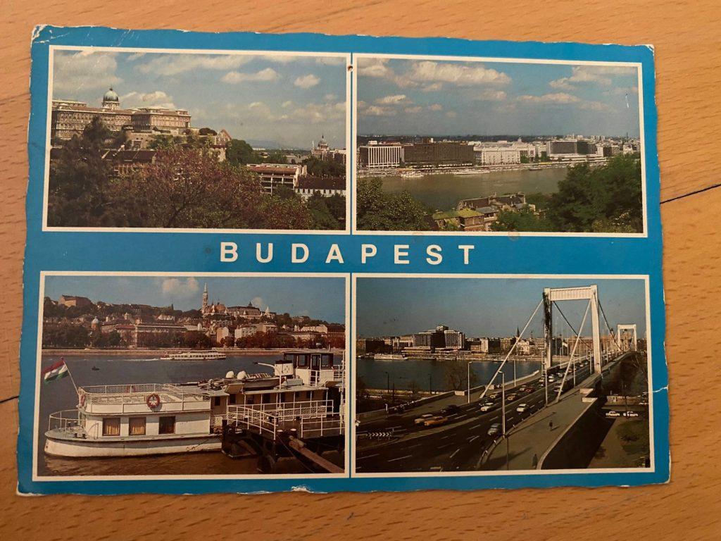 Képeslap a 90-es évekből Budapest