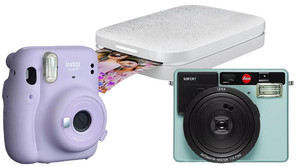 Instant fényképezőgép és mini fotónyomtató