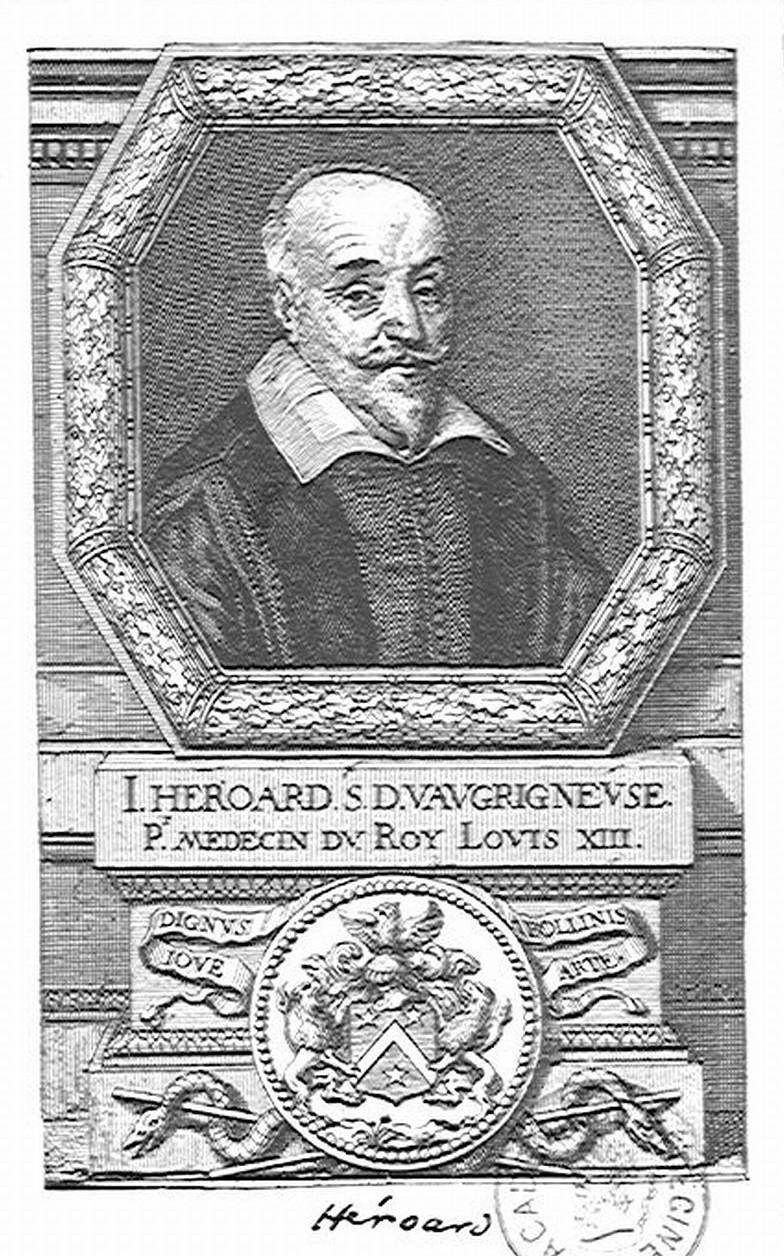 A hűséges orvos, Jean Héroard arcképe (forrás: Wikipedia)