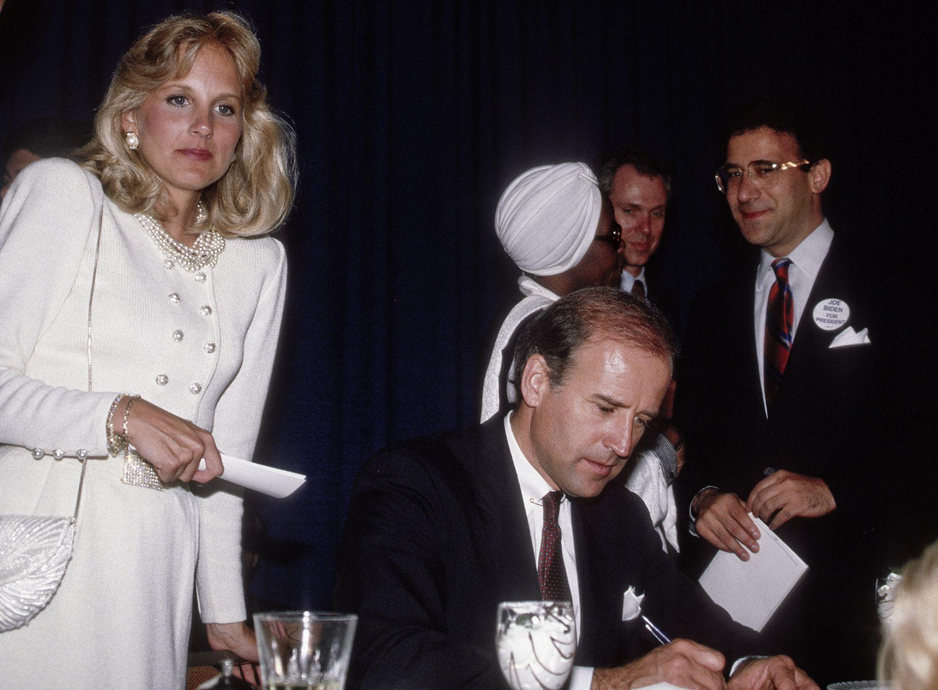 Dr. Jill Biden és férje, Joe Biden szenátor 1987-ben.