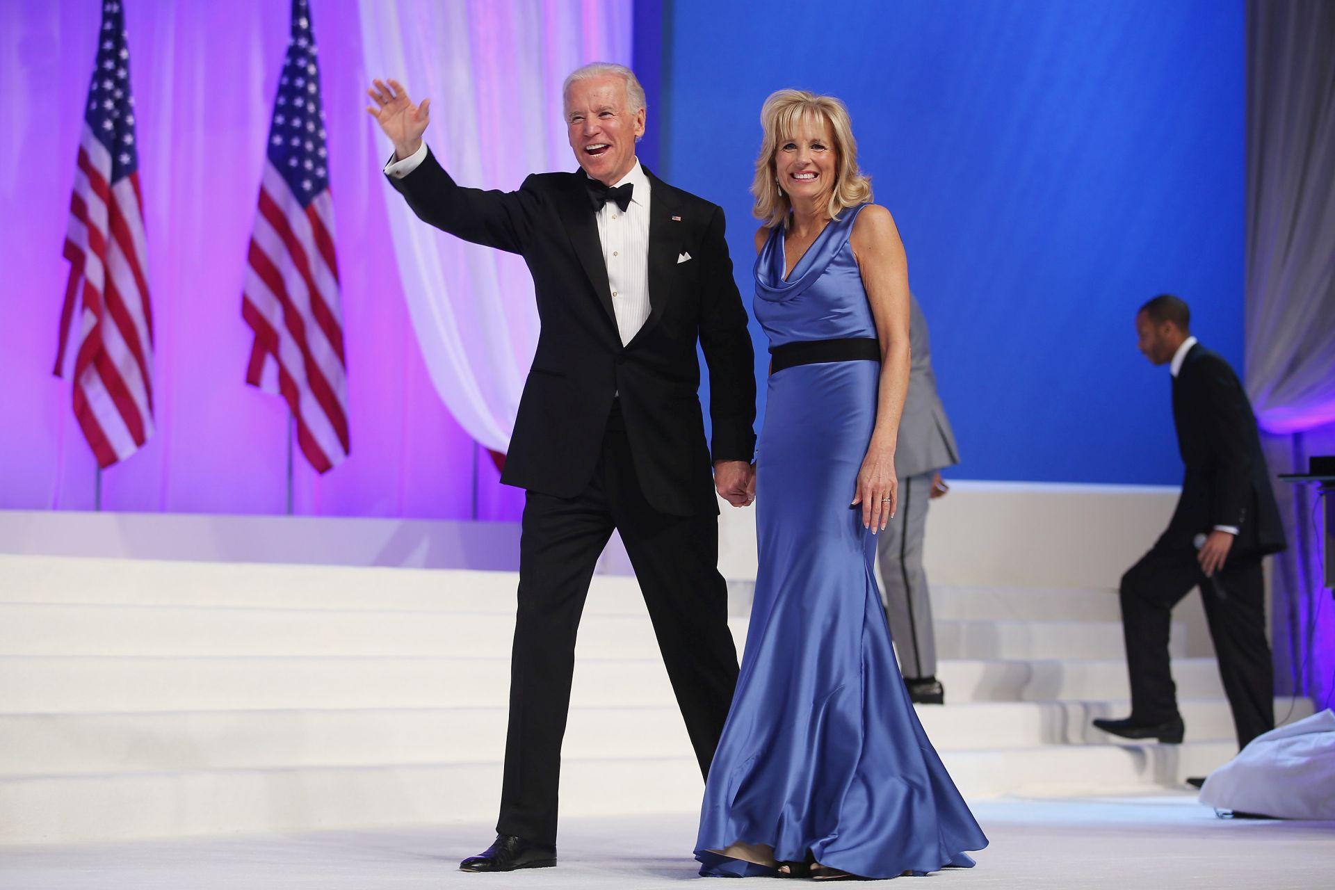 Jill Biden férjével egy 2013-as rendezvényen.