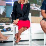2018-ban Jill Biden egy zebramintás slingback cipőt viselt egyébiránt roppant visszafogott szettjéhez.