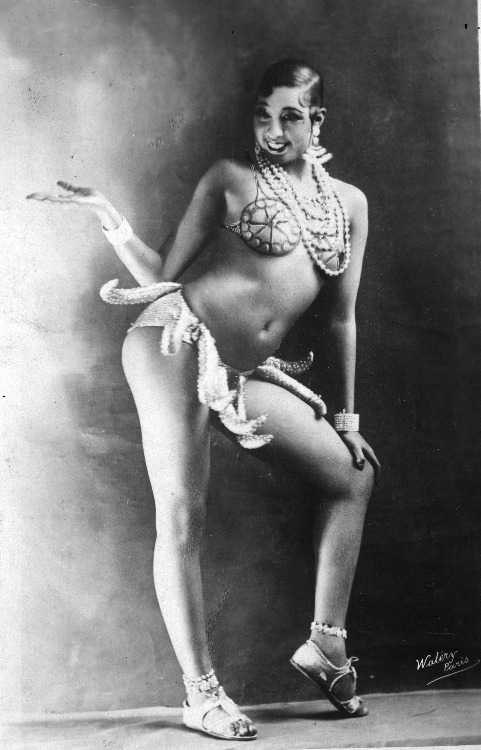 Josephine Baker, a megtestesült 20-as évek (fotó: Wikipedia)