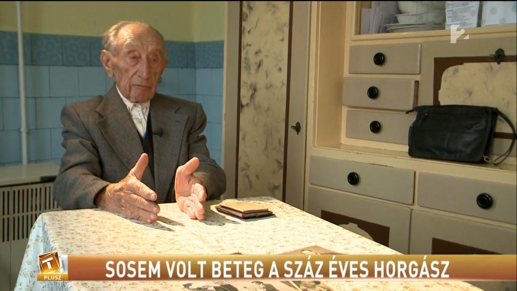 Sosem volt beteg a 100 éves Károly bácsi