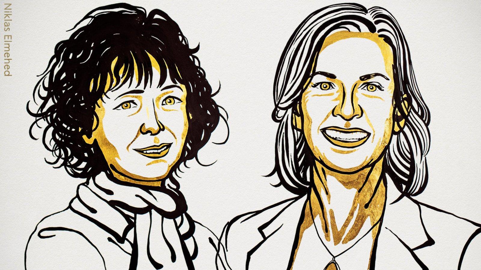 Emmanuelle Charpentier és Jennifer A. Doudna kapta a 2020-as kémiai Nobel-díjat
