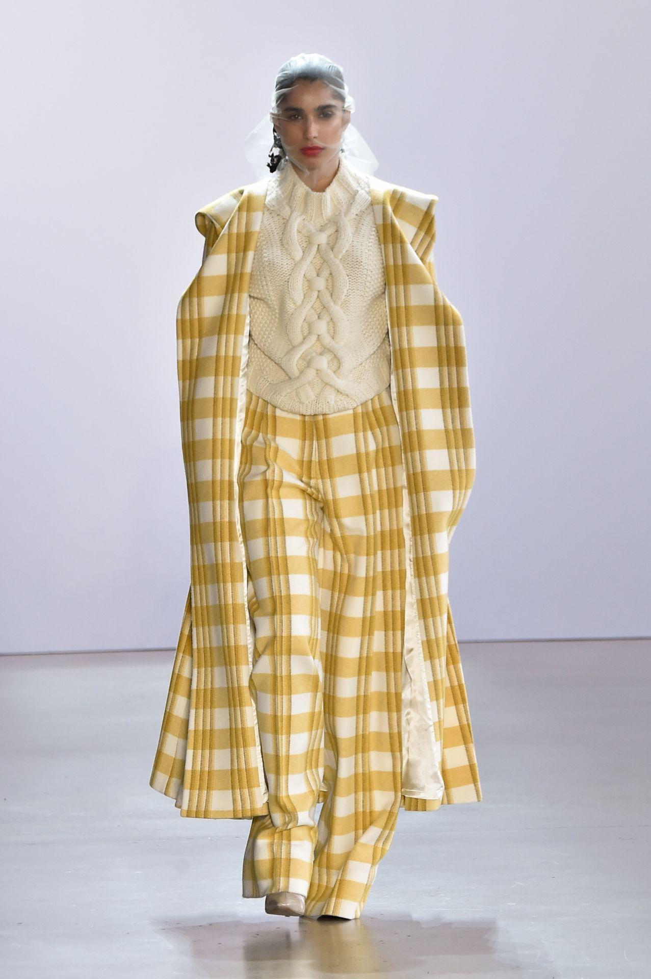Brock Collection kockás kabát és nadrág