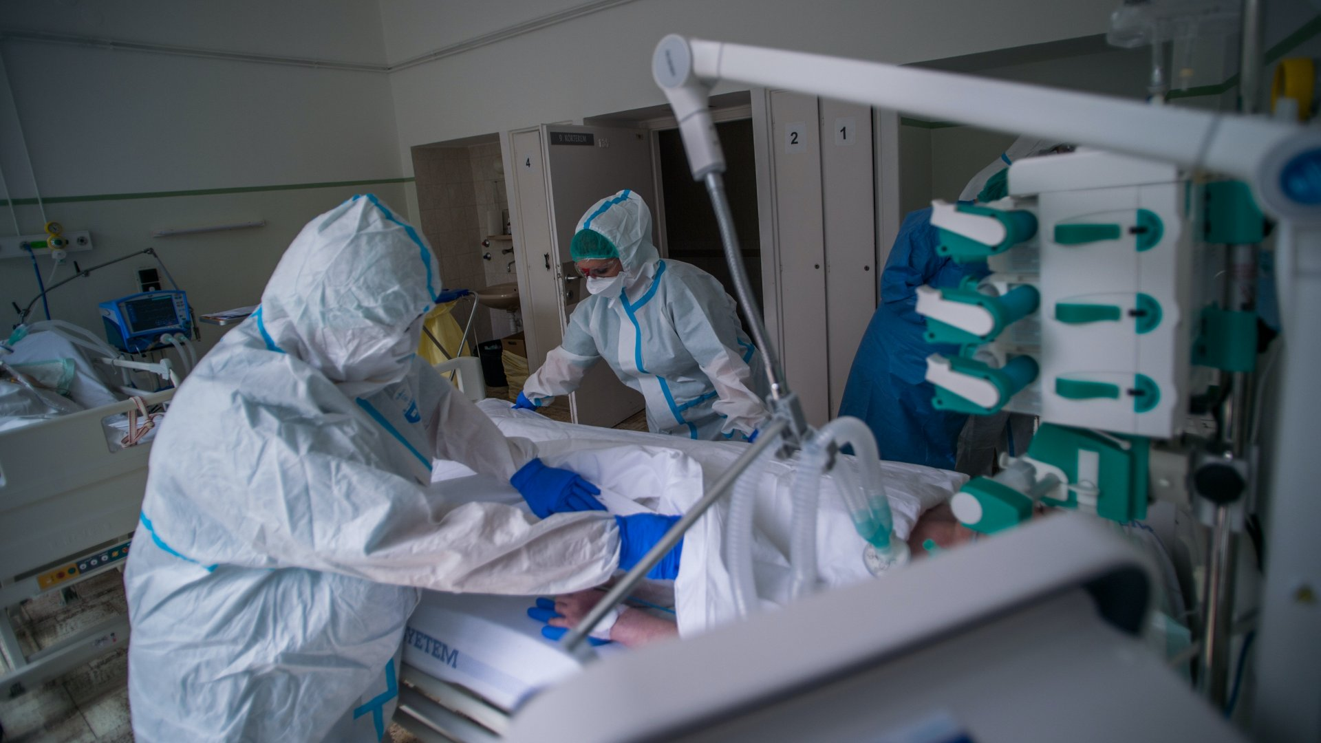 Koronavírus kórház