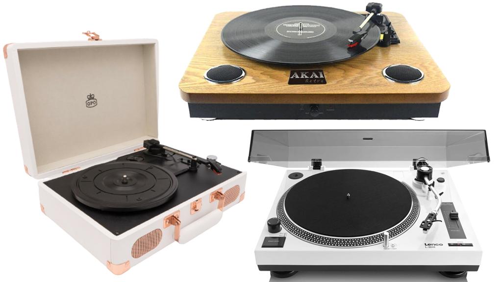 Lemezjátszók: 1. GPO Soho lemezjátszó , 2. Akai ATT-09 Retro lemezjátszó , 3. Lenco L-3808 W Direct drive-os lemezjátszó