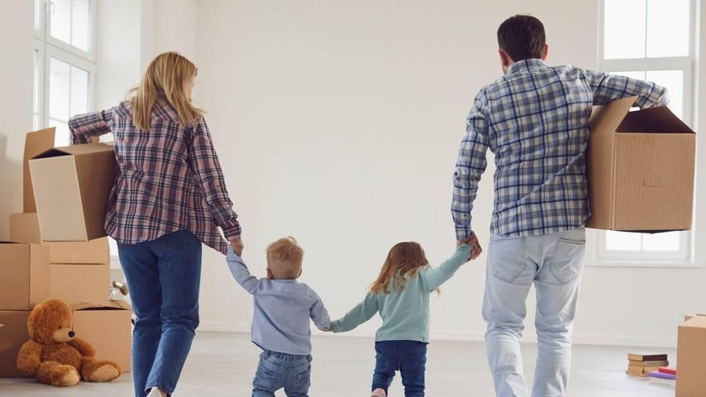 költözés gyerekkel
