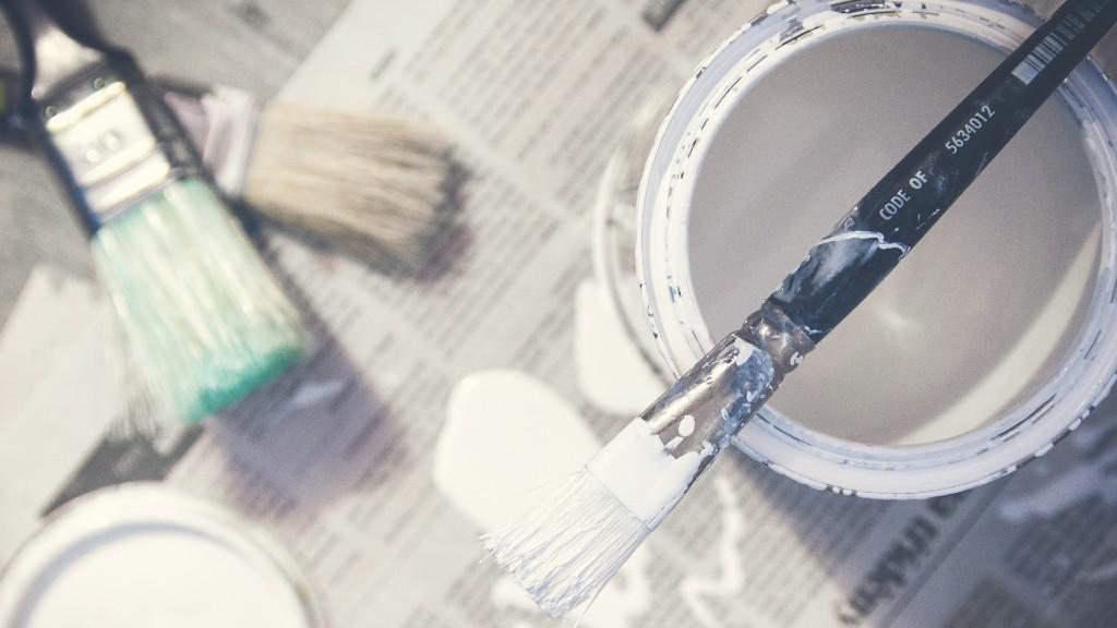 A lakásfelújítás elengedhetetlen része a festés (fotó: Pixabay)