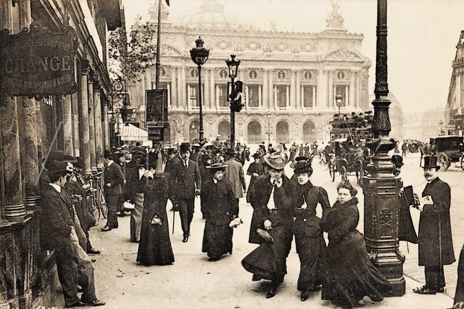 Párizs a századfordulón (fotó: Wikipedia)