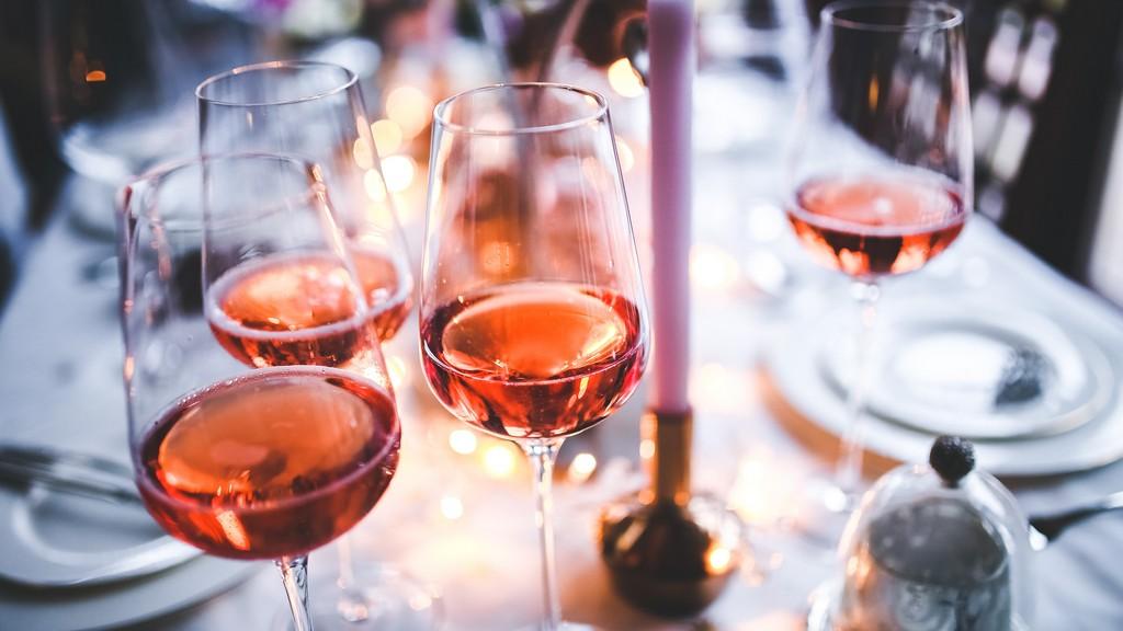 A rosé borhoz fehérboros pohár dukál