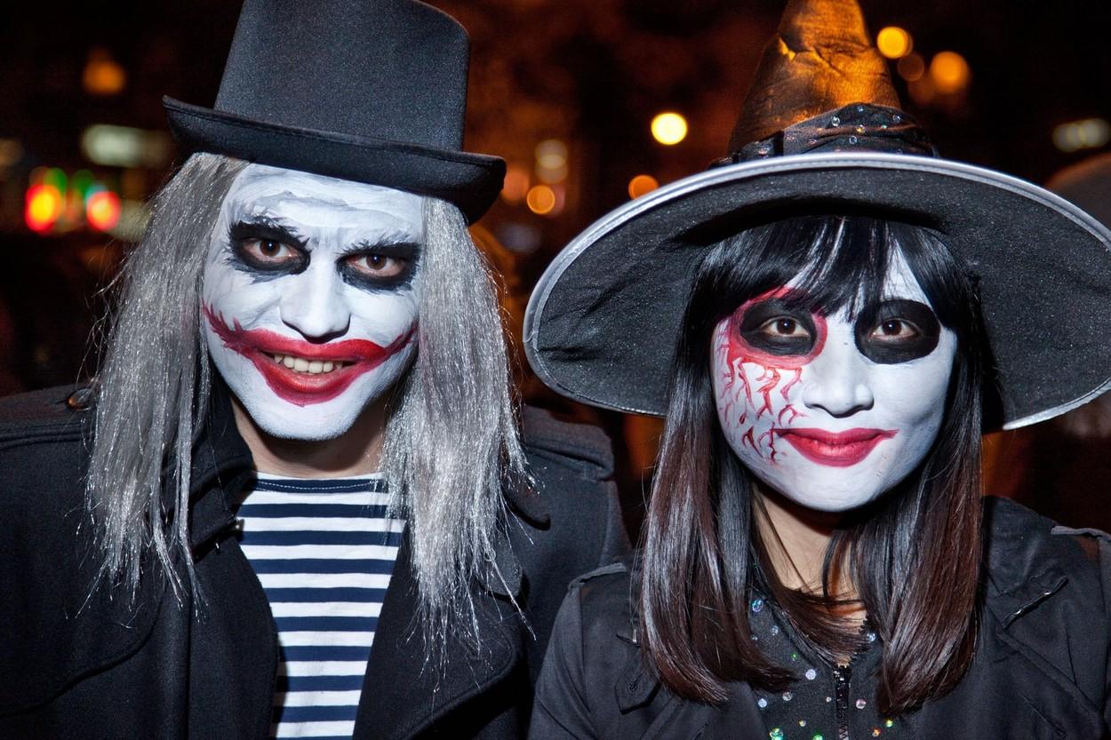 És nem, sminkeli sem nehéz. Egy ehhez hasonló arcfestést bárki elkészíthet otthon. (Fotó: Profimedia)