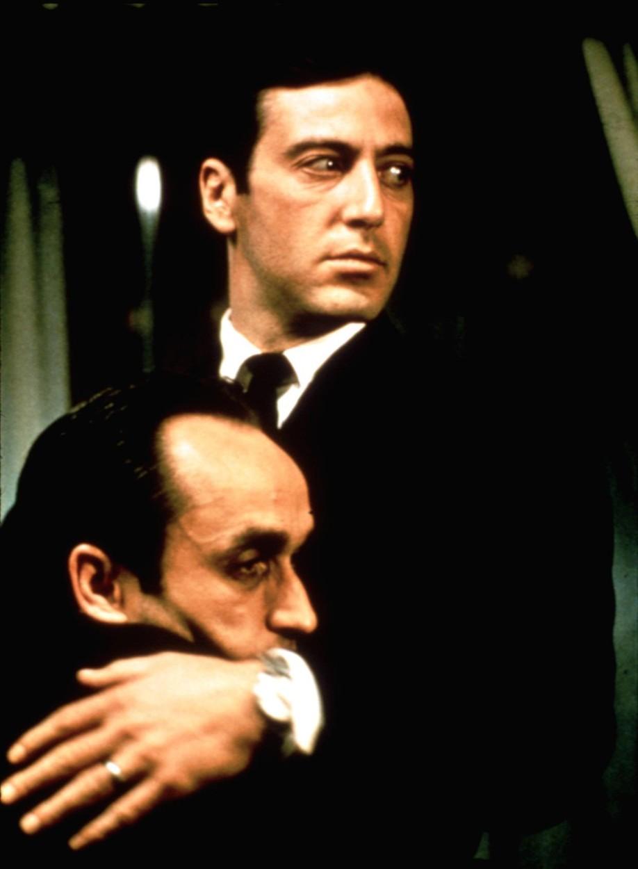 Al Pacino és John Cazale A keresztapa második részében (fotó: Profimédia)