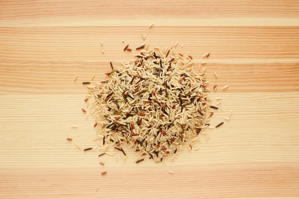 A vadrizst gyakran más rizsfélékkel keverve árulják. (Fotó: Profimedia)