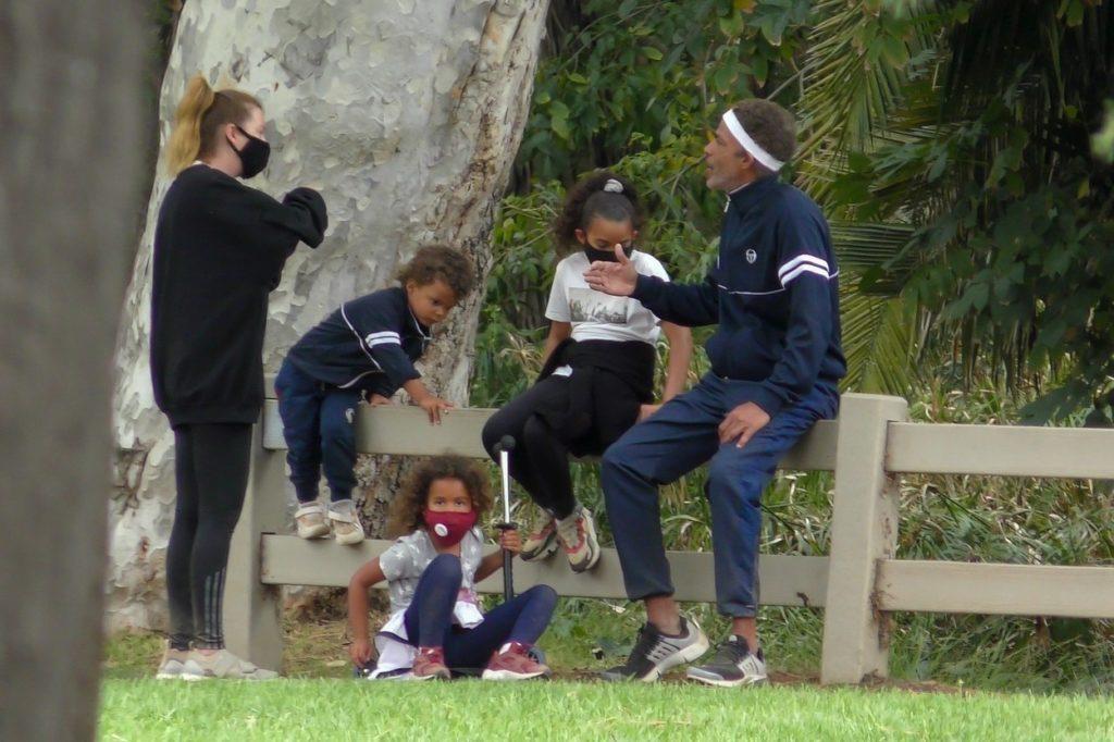 Ellen Pompeo és családja