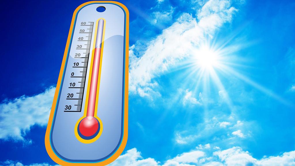 Kúszik a hőmérő higanyszála / Fotó: Pixabay