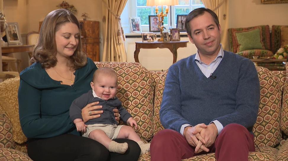 Vilmos luxemburgi herceg családja