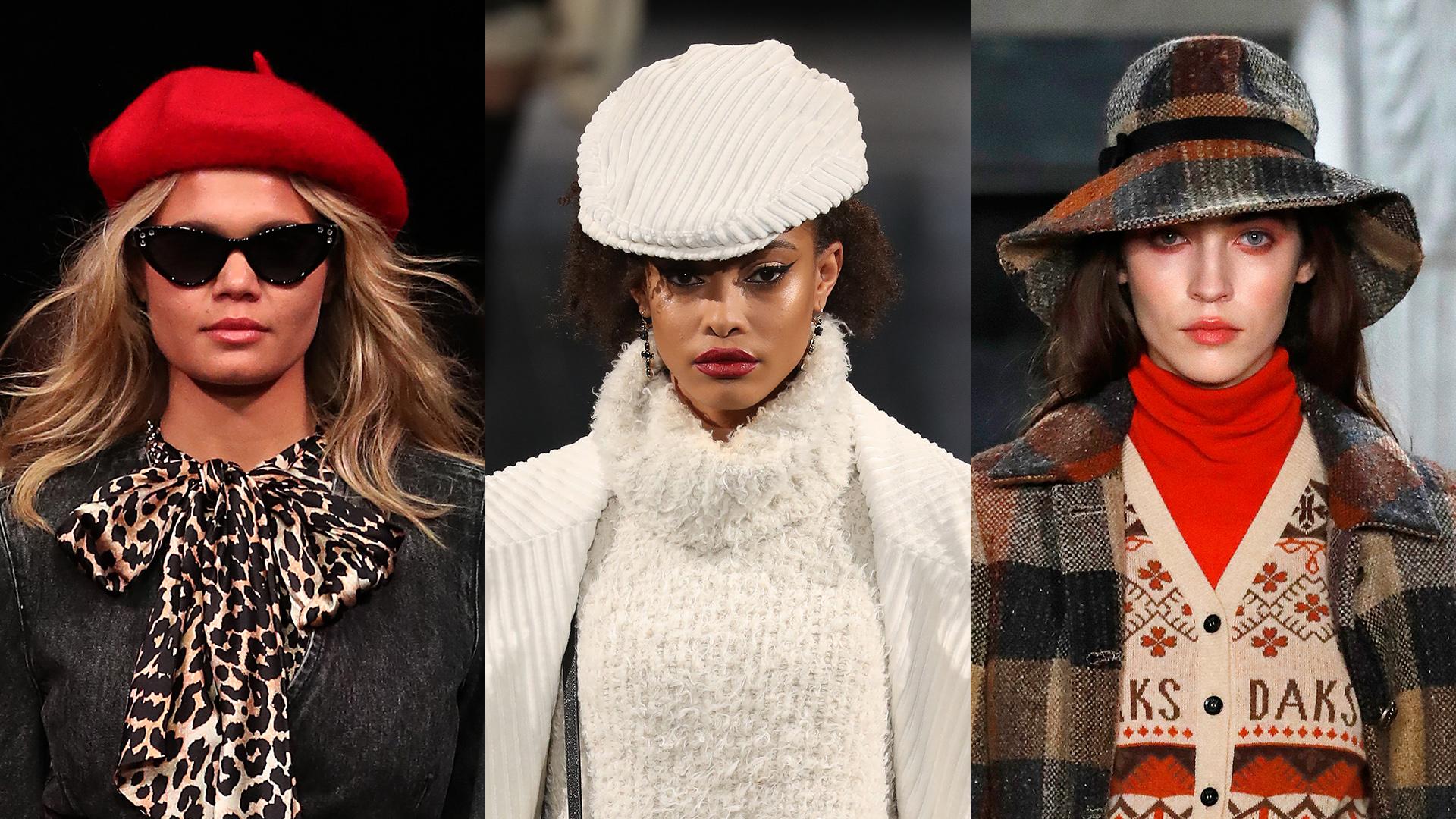 Sapka és kalapdivat 2020 ősz-tél