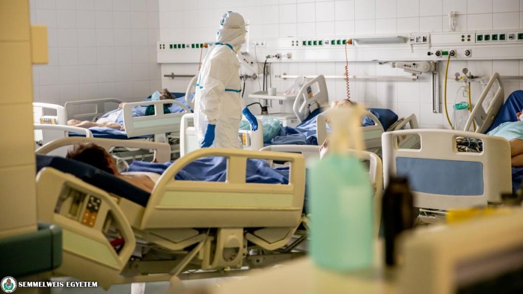 Koronavírusos betegek ápolása a Semmelweis Egyetemen