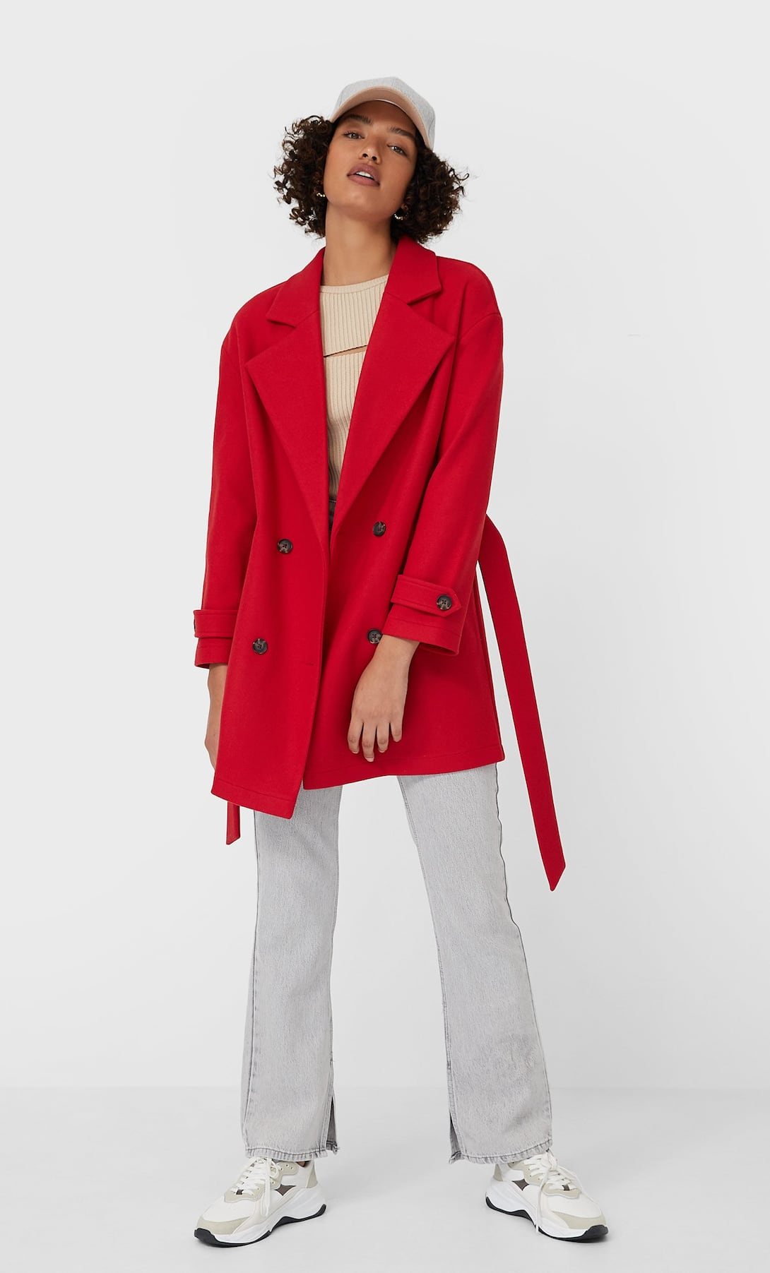Piros kabát