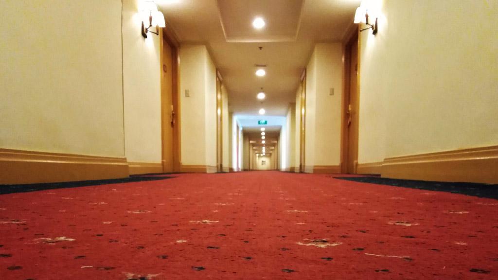 Üres szállodai folyosó / Fotó: Unsplash / A kép illusztráció
