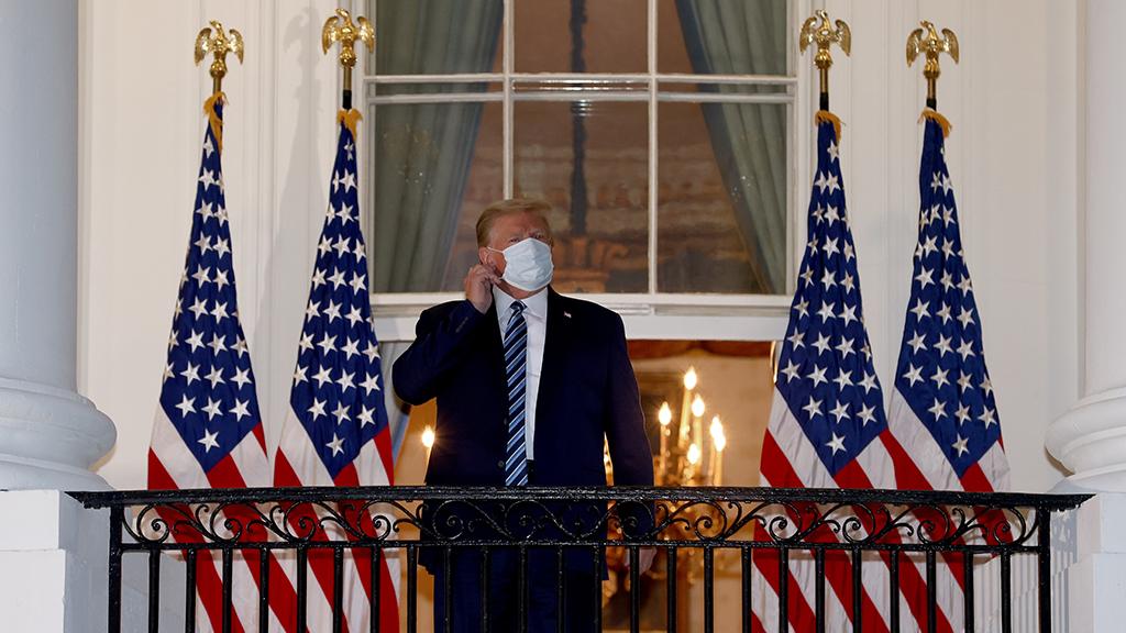 A koronavírus járvány elérte a Fehér Házat