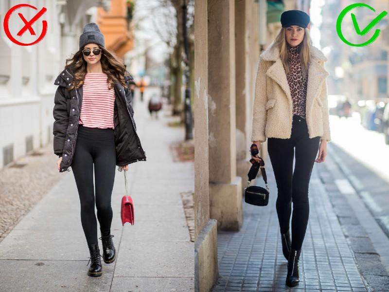 Leggings vs. skinny nadrág